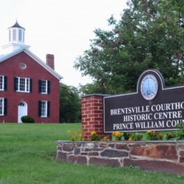 Underground railroad brentsville courthouse prince william visit