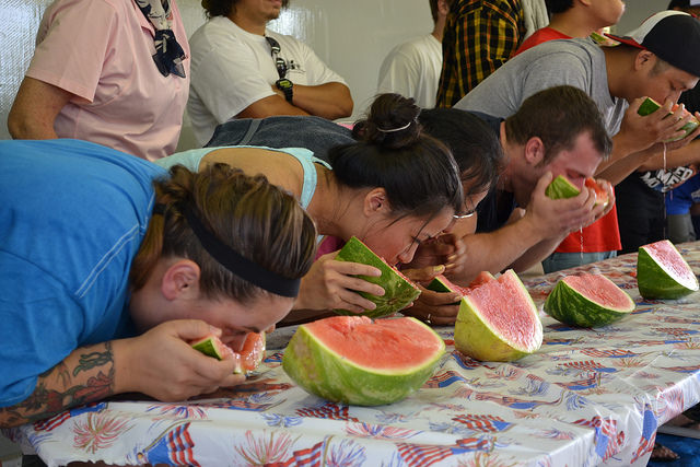 July 4th, Independence day, watermelon, festival