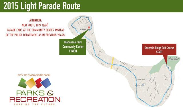 Manassas Park Christmas Parade 2020 Here's the new route for the Manassas Park Light Parade