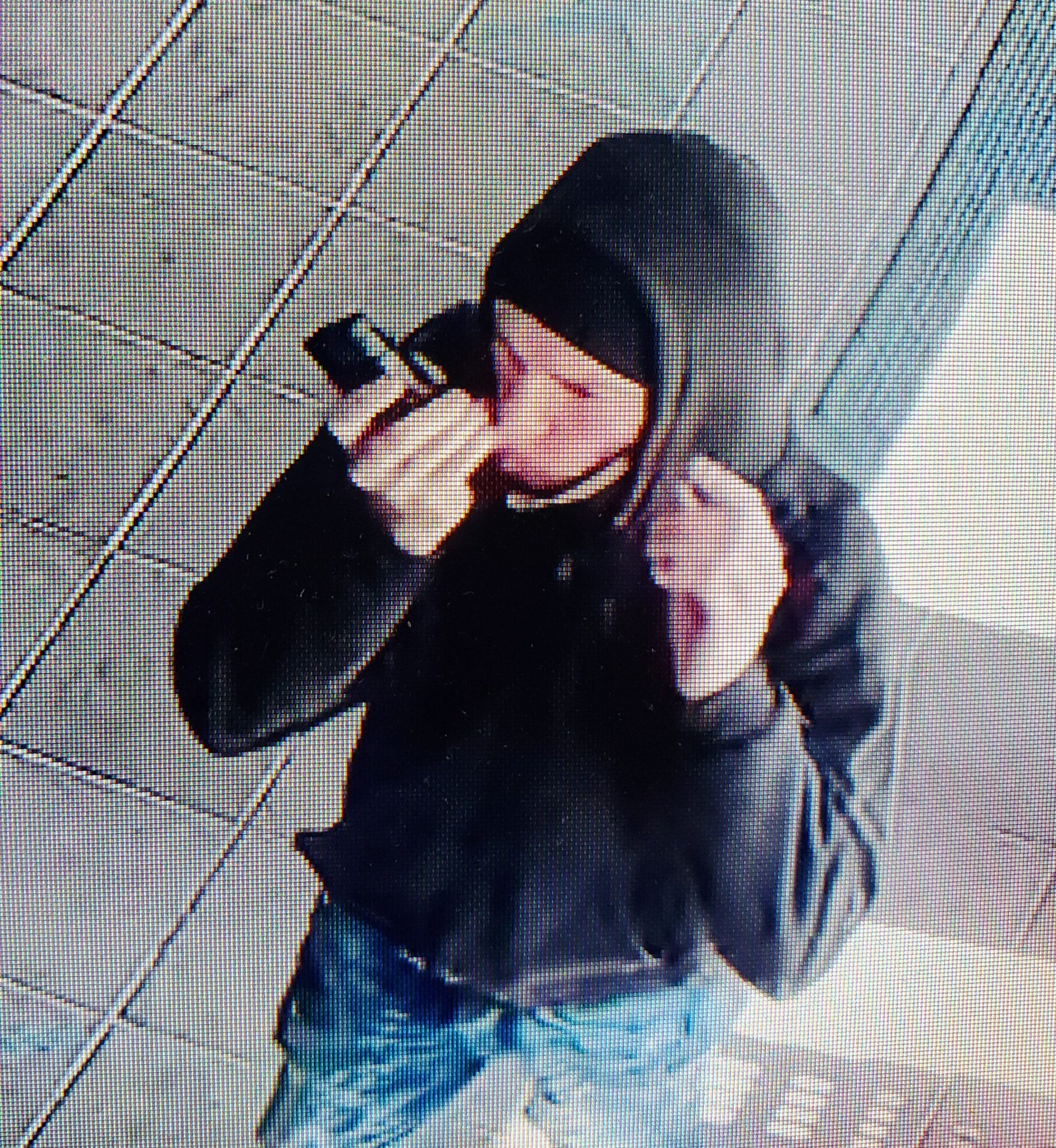Today's police report: Photos of armed robbery suspect posted